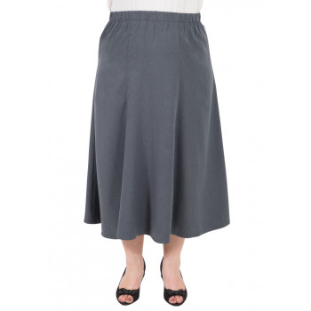 Believe Me 6 Gore Skirt - Charcoal