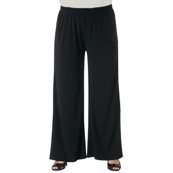 COULOTTES OF FUN PANTS - BLACK
