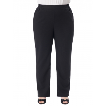 CREPE PANTS - BLACK