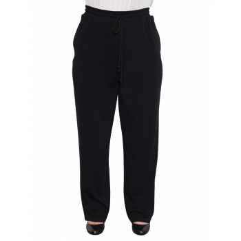 Ebony Track Pant - Black