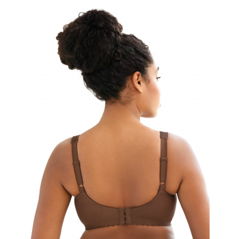 Glamorise Bra 1000 - Feel the Magic Wire-Free Support - MOCHA
