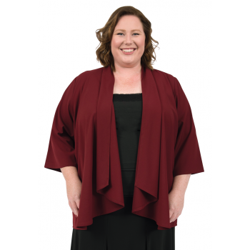 Waterfall Avenue Jacket - Maroon
