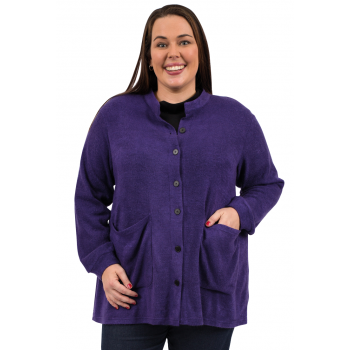 Wrap Me UP Classic Cardi - Purple
