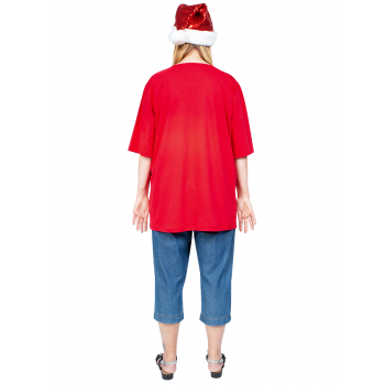 We Wish You a Merry Christmas Tee - Red
