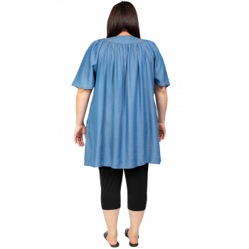 Rolling Fields Tunic - Denim