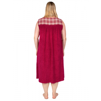Dreamland Terry Dress Sleeveless - Wine