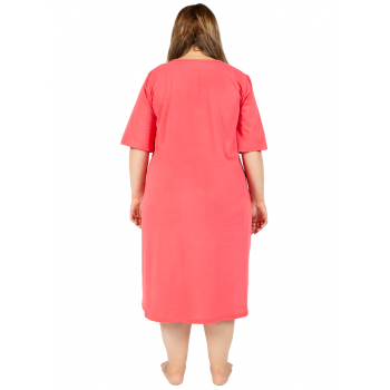 IF YOU LOVE ME NIGHTIE - CORAL