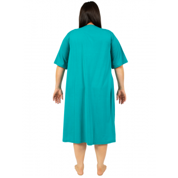 RISE AND SHINE NIGHTIE - TEAL