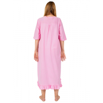 JUST FOR YOU EMBROIDERED NIGHTIE - PINK
