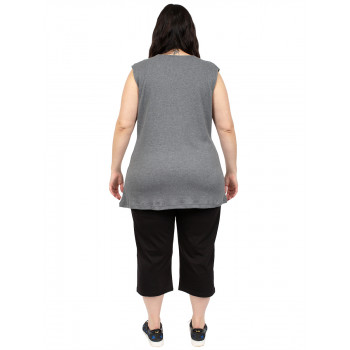 WINTER FERN THERMALS NO SLEEVES - GREY