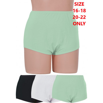 Full Briefs - 100% Cotton 3PK