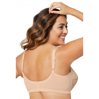 Glamorise Bra - The Front Close Wire-Free Support - BEIGE