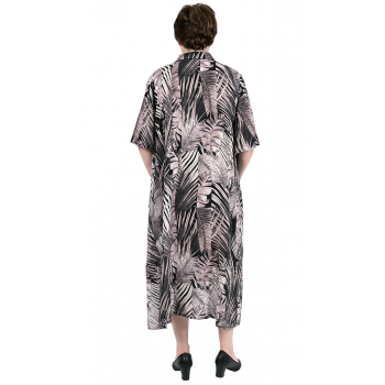 Women's Plus Size Clothing Casual Stormy Summer Shirt Dress