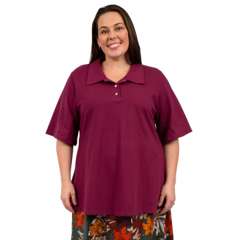 We Can Polo Top - Maroon
