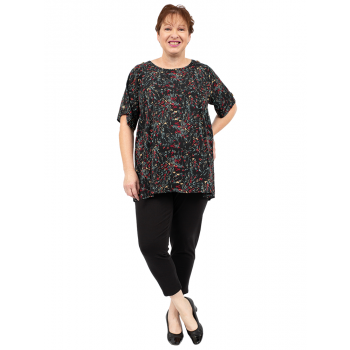 Fire And Ice Top - Black