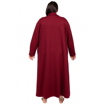Maybellene Dressing Gown - Maroon