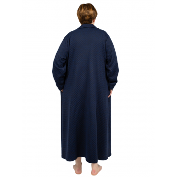 Maybellene Dressing Gown - Navy