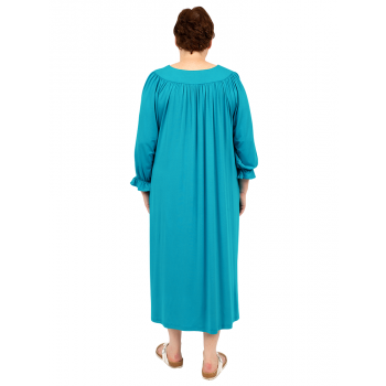 Valentino Vneck Lounge Wear - Teal