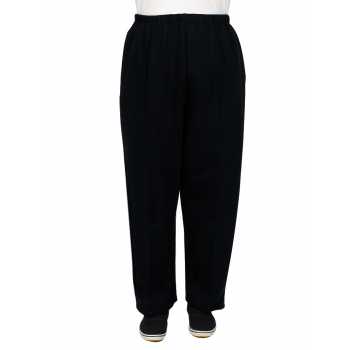 Fame Fleece Tracksuit Pants - Black