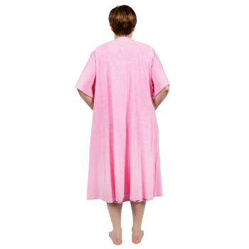 Dreamland Terry Dressing Gown - Pink