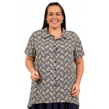 Street View Blouse - Printed