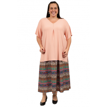 Beach Walk Skirt - Brown