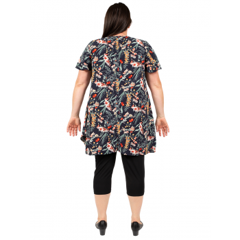 Passing Time Tunic - Print