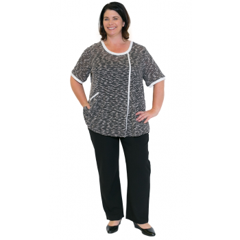 Women's Plus Size Clothing Top Millie Lane Top
