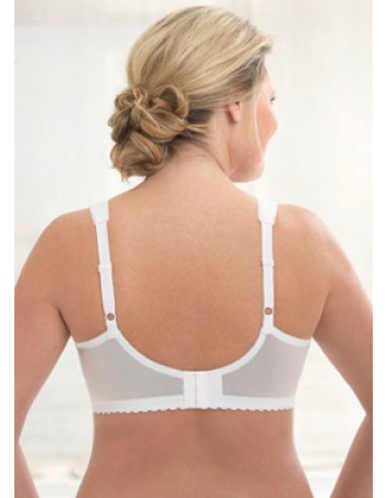 Glamorise Bra - Feel the Magic Wire-Free Support - WHITE