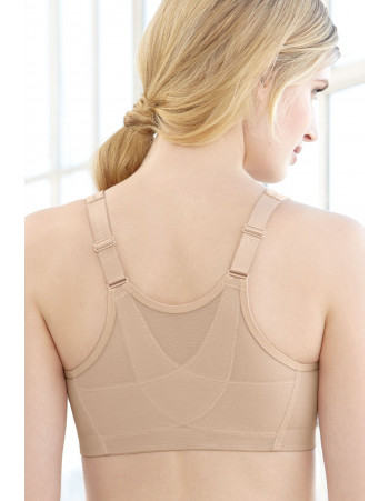 Glamorise Bra - 360 Support Front-Close Posture - BEIGE