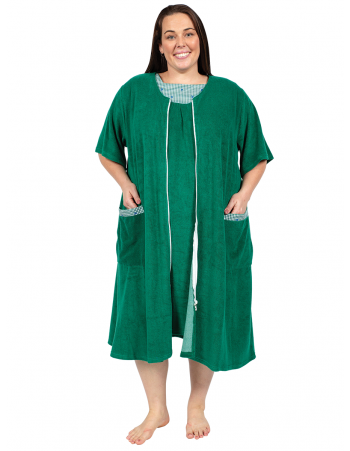 Dreamland Terry Dress - Green