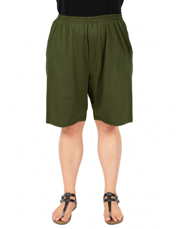 Take It Easy Shorts - Olive