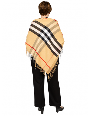 Stripe Shawl - CREAM