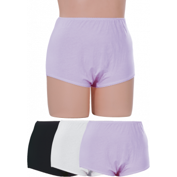 FULL BRIEFS - COTTON SPANDEX 3PK