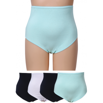 FULL BRIEFS - DW4500 - COTTON SPANDEX 4 PACK