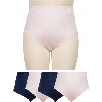 Full Briefs - Cotton Spandex 4PK