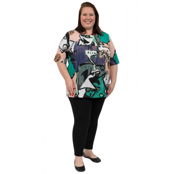 Mellyn Square Neck Top