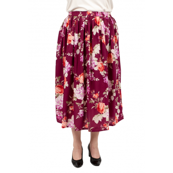 Good News Skirt - Plum