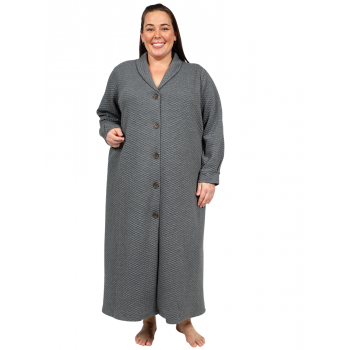 Maybellene Dressing Gown - Grey