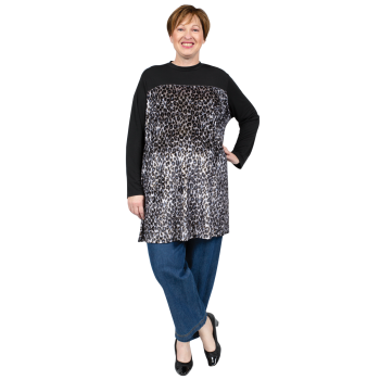 Queen of the Night Tunic - GREY