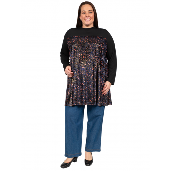 Queen of the Night Tunic - NAVY