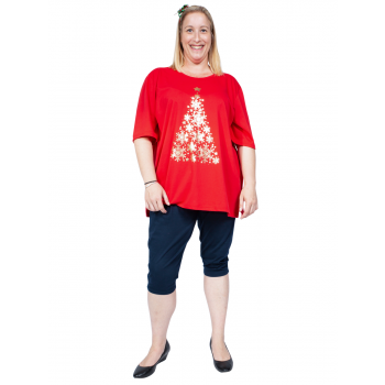 Christmas Tree Tee - Red