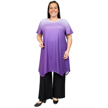 LOVE LETTERS TUNIC - PURPLE