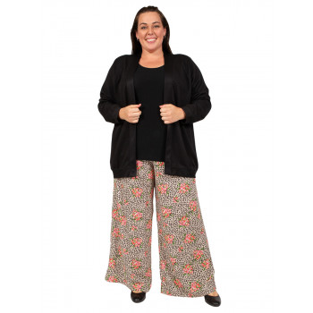 WALK THE BEAT COULOTTES PANTS - PRINT