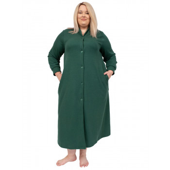 AFTER HOURS DRESSING GOWN - GREEN