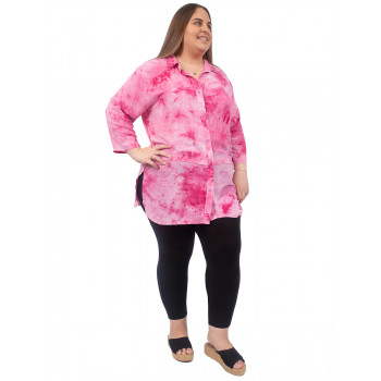 TURTLE DOVE BLOUSE - PINK PRINT