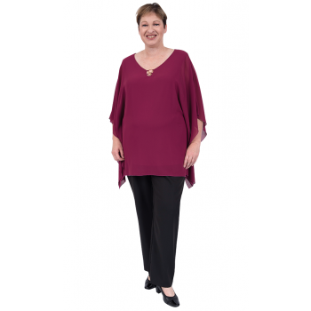 Closer to Me Kaftan - Plum