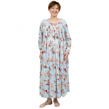 Autumn Fall Nightie - Blue