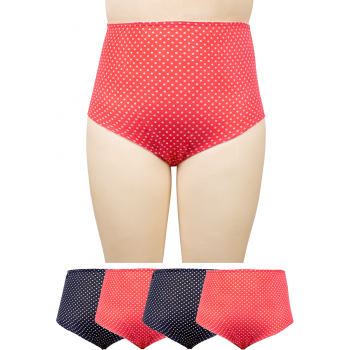 FULL BRIEFS - DW6000 - Cotton Spandex 4 PACK