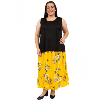 SAMPLE ONLY - Country Road Skirt - Yellow